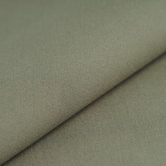 Tissu toile extérieure Hanck unie vert kaki