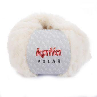 Fil à tricoter Katia Polar écru