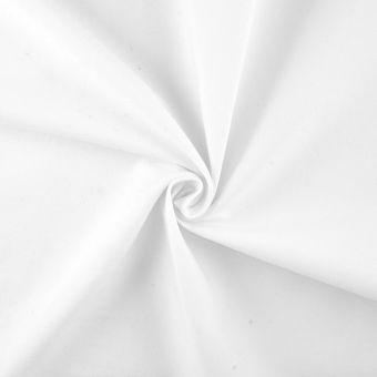 Tissu jean stretch blanc