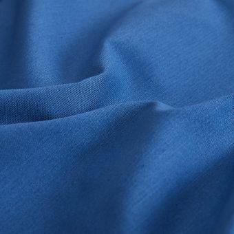 Tissu sergé de coton Serena bleu