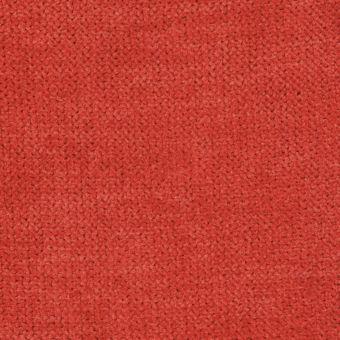 Tissu velours thermique orange