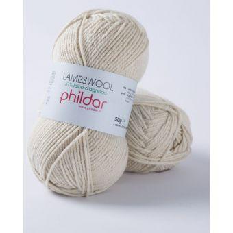 Fil à tricoter Phildar lambswool lin