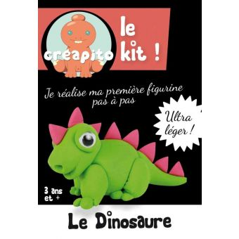 Kit pâte à modeler kid Créapito Dinosaure