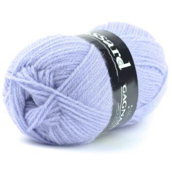Pelote de fil à tricoter gagnante violet bleu - Plassard