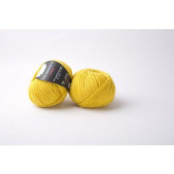 Pelote de laine Phildar Mérinos 3,5 jaune