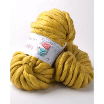 Fil à tricoter Phildar big moutarde