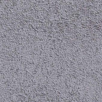 Tissu éponge léger uni Laguna gris perle