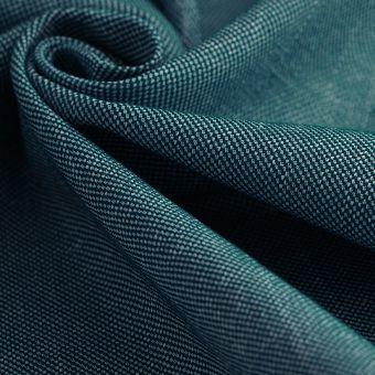 Tissu toile Malmo bleu canard polyester recyclé