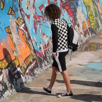 Patron jogging bermuda adolescent 10 au 16 ans - Super Bison