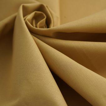 Tissu coton Cristina doré