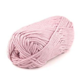 Pelote de fil à tricoter Plassard Songe rose pâle