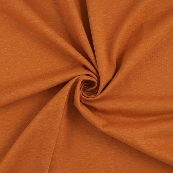 Tissu jersey bio chanvre rouille