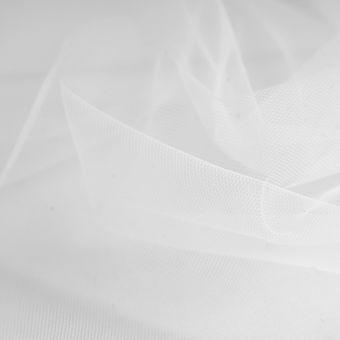 Tissu voile mariée grande largeur blanc