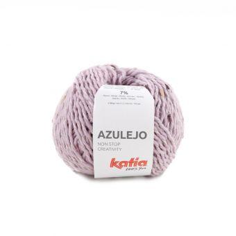 Pelote de fil à tricoter Katia Azulejo ROSE