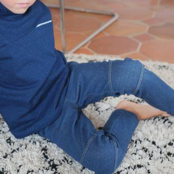 Patron pantalon et bermuda MARLEY 2 au 12 ans - Super Bison