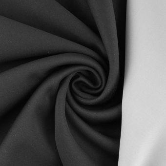 Tissu interlock spécial masque gris noir catégorie 2