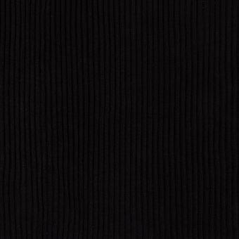Bord-côte tubulaire épais noir