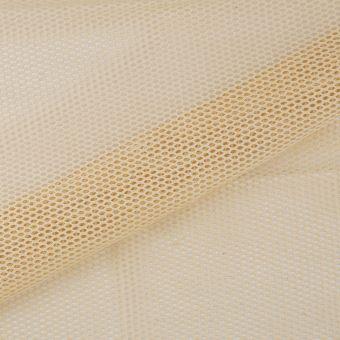 Tissu filet écru coton bio
