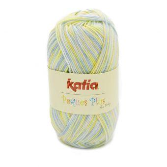 Fil à tricoter Katia Peques Plus blanc écru