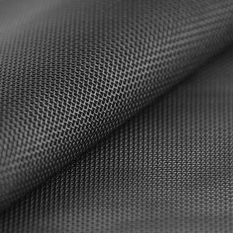 Tissu toile transat noir