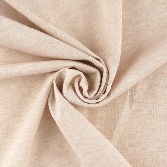 Jersey coton bio taupe