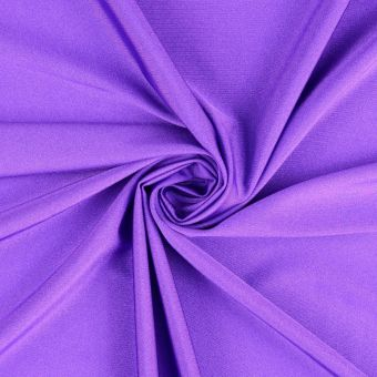 Tissu polyamide uni très extensible violet