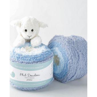 Fil à tricoter Phildar doudou baleine