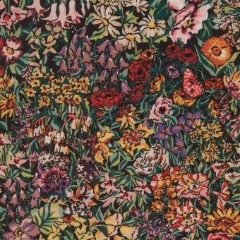 Tissu popeline coton Liberty A Castle Garden
