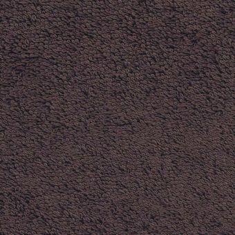 Tissu éponge léger uni Laguna marron