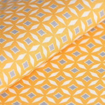 Tissu enduit Loneta jaune