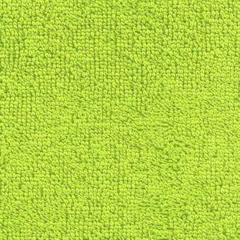 Tissu éponge léger uni Laguna vert pomme