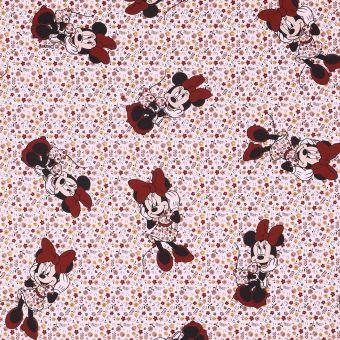 Tissu coton Minnie