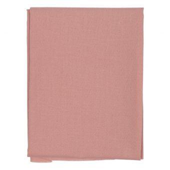 Coupon de tissu uni rose