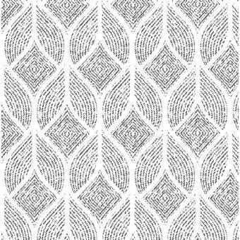 Tissu jacquard coton polyester à imprimé graphique noumea blanc