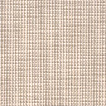 Toile outdoor polyskin anti-uv beige et blanc