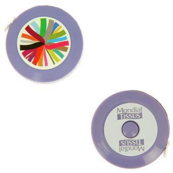 Centimetre enrouleur violet MT