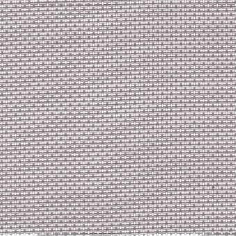 Toile grille ajourée mobilier extérieur PVC 150 cm argent