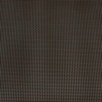 Tissu toile grille pour sièges et bains de soleil coloris noir