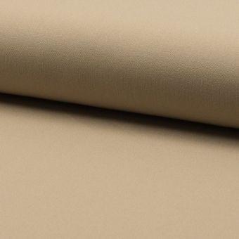 Tissu lainage fin extensible uni sable