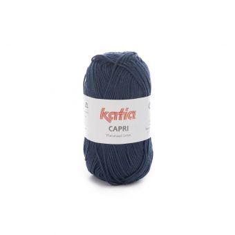 Fil à tricoter Katia Capri bleu foncé