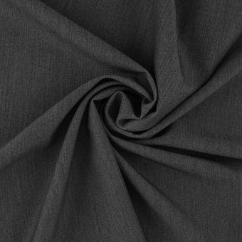 Tissu gabardine polyviscose recyclé gris
