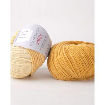 Fil à tricoter Phildar dégradé gold