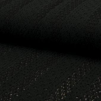 Tissu dentelle Jupiter noir