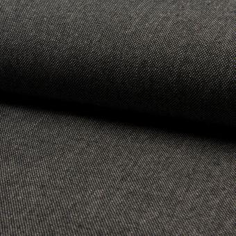 Tweed laine uni gris