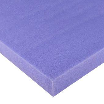 Plaque mousse haute résilience carré et fine 35kg/m3
