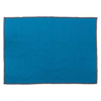 Set de table Essentiel bleu pétrole