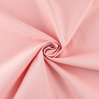 Tissu coton épais traité anti-poussière rose