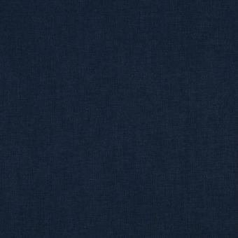 Tissu coton uni Cristina bleu minuit