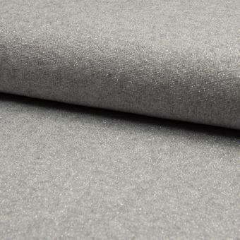 Jersey brillant gris clair