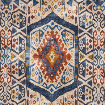 Tissu coton épais tapis persan